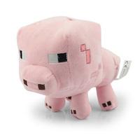 1pcs Pink Cute Pig 16cm Genuine JJ dolls Stuffed Plush Doll Minecraft Toys Creeper Brinquedos Coolie Afraid Of Plush Of My World