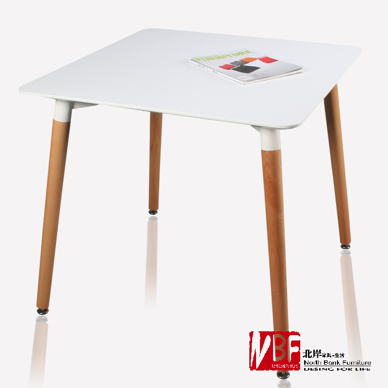 NBF North Shore Astori wood dining table minimalist Ikea computer desk small apartment units casual green rice(China (Mainland))