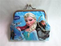 New snow Romance iron buckle purse original single- shell coin purse cartoon disco children