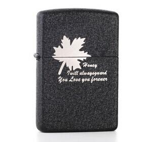 Free shipping The United States Marine corps kerosene lighter(Not add cotton oil liquid)Christmas gift 4655759(China (Mainland))