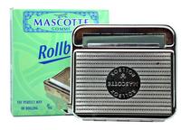 Silver Curved Design Cigarette tobacco Roller Machine Box Case narguile arguile hookah grinder tobacco smoking amoladora