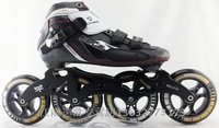 PS professional roller skates, inline speed skate for adults, black white red Patim patins profissionais a22dw