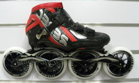 PS professional roller skates, inline speed skate for adults, black white red Patim patins profissionais f5g6h7