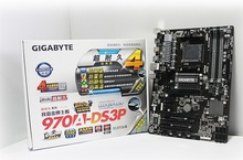 100% original Free shipping Gigabyte 970A-DS3P   motherboard supports AMD FX 6300 CPU AM3 + big board  free shipping(China (Mainland))