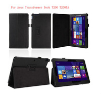 High quality Folio PU Stand Leather Case Cover For Asus Transformer Book T200TA 11.6 inch Tablet PC
