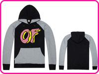Free Shipping Autumn/Winter Brand Odd Future Brand Ofwgkta Lovers Top Design Hoodie Sweatshirt Pullover Hiphop Skateboard Hoody