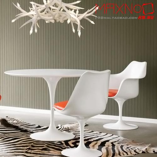 Dining minimalist modern porcelain white fiberglass dinette chairs creative designer hotel patio dining chairs(China (Mainland))