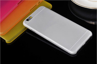 New 0.3mm Ultra Thin Slim Matte Case Prevent Handprints Back Case Cover Shell For Apple iphone 6 Plus 5.5""