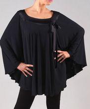 Exotic dance ballroom dancing Latin Dance – large bat sleeve blouse Latin dance exercise coat T12074