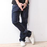 skinny jeans mid-rise cotton material street storm brand man plus size mens skinny sweatpants