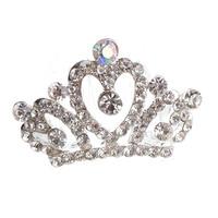 2015 new super Children's hair accessories cute fashion crown   fashion alloy crown crown 5 pcs/lot