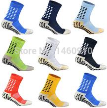 Top Quality Anti Slip Tocksox Soccer Socks 1:1 Trusox Mid-calf Cotton Football Sock Calcetin de futbol Meias Calcetines Bale sox(China (Mainland))