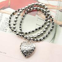 Factory direct sale! magnetic leather fashion bracelets vners paracord bracelet L0520
