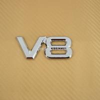 Free Shipping V8 Logo Badge Emblem Car Sticker