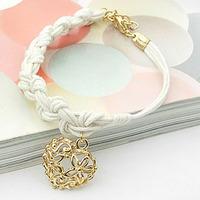white black Korea jewelry wholesale bracelet hipanema 18k gold filled bracelets L0493A
