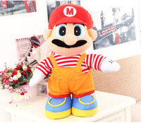 Super Marie brothers Mario mushroom doll plush toys gift surrounding puppet stuffed doll toys free shipping