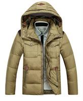 M-XXXL  Down Male  Short paragraph  Casual cotton  Men thicker coat  Free shipping