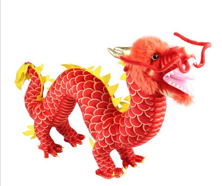 "33""*20"" Chinese Dragon Plush Stuffed Animal Doll Toy Novel GiftBIRTHDAY GIFT CHRISTMAS GIFT(China (Mainland))"