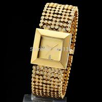 2014 new square Case Shape Fashion & Casual watches men or women luxury brand quartz watch Free shipping