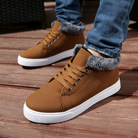 2014 new zapatos hombre ankle heels shoe Winter men's fashion casual suede boots men motorcycle boots 39-44 Free shipping