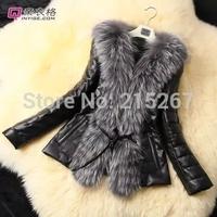 The new Korean Winter 2014 Faux Fur coat fur plush fashion long slim female fur coat free shipping winter coat women