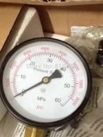 60Mpa Pressure Gauge, pressure meter 600bar.