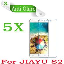 5PCS Original Cell Phone JIAYU S2 5.0″inch Screen Protector,Matte Anti-glare Anti-Scratch Jiayu S2 Screen Protective Film