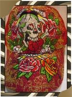 Brand ED Cheap Top Sale Free Dropshipping Wholesale Retail Fashion Unisex Ed Baseball Cap Sports Skull Roses Caps-037