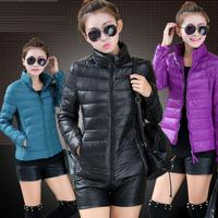 New 2014 \ women winter women's fashion casual jacket warm duck down winter coat jacket coat slim women