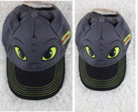 2014 New Hot Sale How to train your dragon 2 toothless hat Fashion baseball cap Night Fury Children's sun hat free shipping