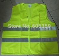 reflective clothing/safety clothing/traffic safety coat/reflective vest/yellow/special jackets/free shipping/wholesales & retail