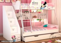CRBD005 Children's furniture of coloured drawing or pattern  bunk beds