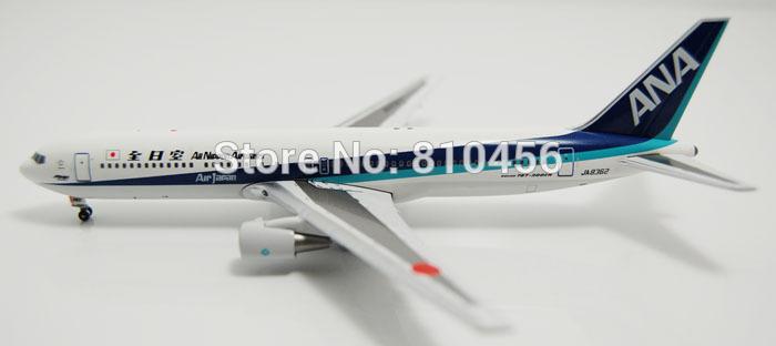 Free Shipping!1:400 Blue angel Japan ANA airline B767 model model airline souvenir gift aeroplane model diecast model(China (Mainland))