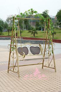 2014 new wrought iron garden swing swing outdoor patio rocking chair swing hammock outdoor park Chiaki Specials(China (Mainland))