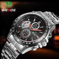 WEIDE WH1110 Men Sports Watches  Fashion Wristwatches JAPAN Quartz 30 Meters Waterproof Analog Men's Military Watch