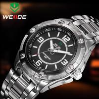 WEIDE WH1108 Men's Sports Watches 3ATM Brand Style Original wristwatch JAPAN Movement Quartz Analog Watch Men Military Watches