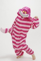 Cosplay Anime Cheshire Cat Women Men Unisex Onesie Halloween Carnival Christmas Party Costumes Pajamas for Adults Pijamas