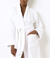 New Women's Solid Polo Bathrobe Good Quality Ladies Polo Robes Classic Long Sleeve polo Sleepwear