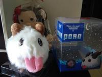 Cash sale 2014 Legal Edition LOL High quality lol Poro Big size 25*20 cm Plush dolls /Toy for children(Authentic box)
