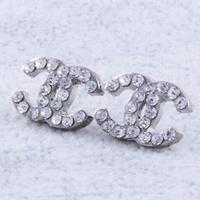 France Top brand Good Quality Full CZ Diamonds C women fashion stud earrings ,female jewelry, free shipping