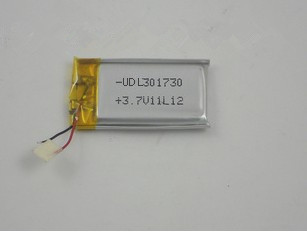 Supply 100 -capacity polymer lithium battery ,031730-3 .7 V battery plus environmentally stable electricity outlet plates(China (Mainland))