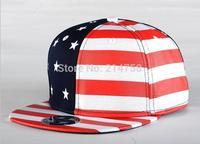 Hip Hop Baseball Flat Bill Hats Caps Snapback Hip-Hop Adjustable Canvas Cap Hat 015