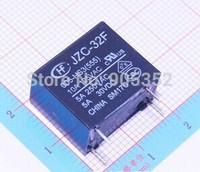 50PCS 5V Volt Power Relay JZC-32F/005-HS3(555) 4PINS