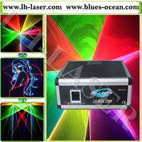 5W mini 40Kpps Surpass SD player ILDA RGB laser light 5000mw RGB stage light