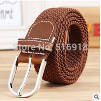 Free Shipping 2014 Hot Sale Men Belt Thicken Canvas Military Belt Jeans Belts Top High Quality Men Strap 3 Colors 120CM
