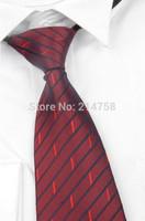 High Quality Men Narrow Necktie Neck Tie Zipper Zip Up Checkered 28