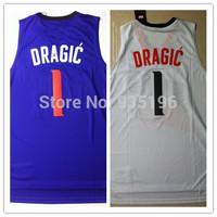 1# Goran Dragic Jersey New Material Rev 30 Embroidery Phoenix Basketball jerseys size S-XXL Retail/Wholesale Free Shipping