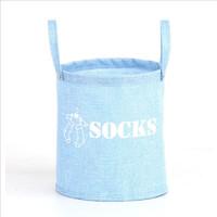 Home organizer multifunction fashion European socks clothing wash dirty clothes oxford storage basket laundry baskets hamper