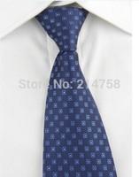 High Quality Men Narrow Necktie Neck Tie Zipper Zip Up Checkered 02