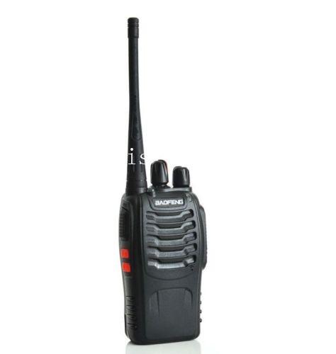2015 New Black BaoFeng BF-888S Walkie Talkie UHF:400-470Mhz Two Way Radio - free shipping(China (Mainland))